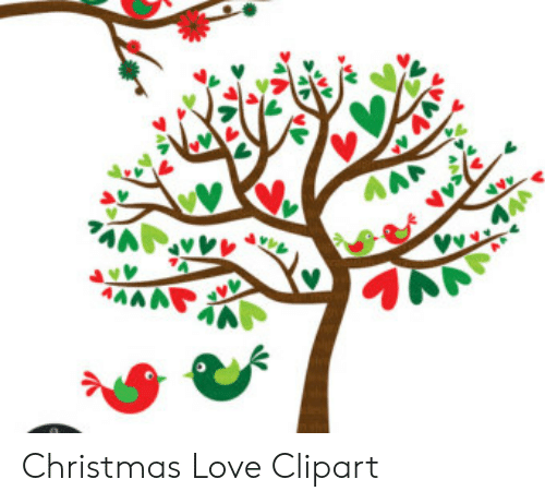 A AAM JUV Christmas Love Clipart.