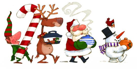 Christmas luncheon clipart 2 » Clipart Station.