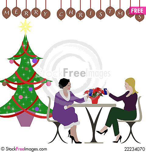 Christmas luncheon clipart 5 » Clipart Station.