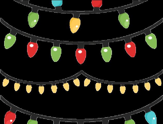 Christmas Lights Clipart Christmas Magic Christmas String.