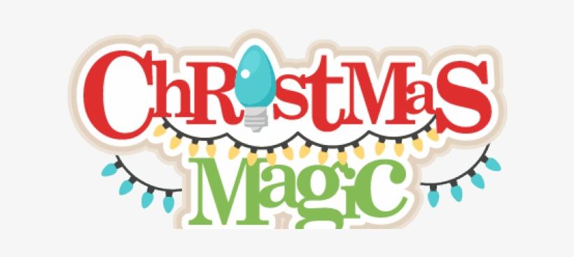 Christmas Lights Clipart Christmas Magic.