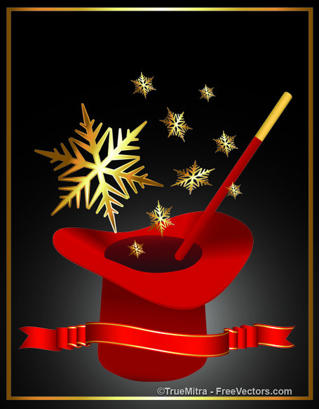 Christmas Magic Clipart Picture Free Download.