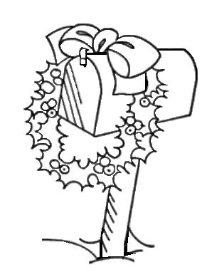 Christmas Mailbox.