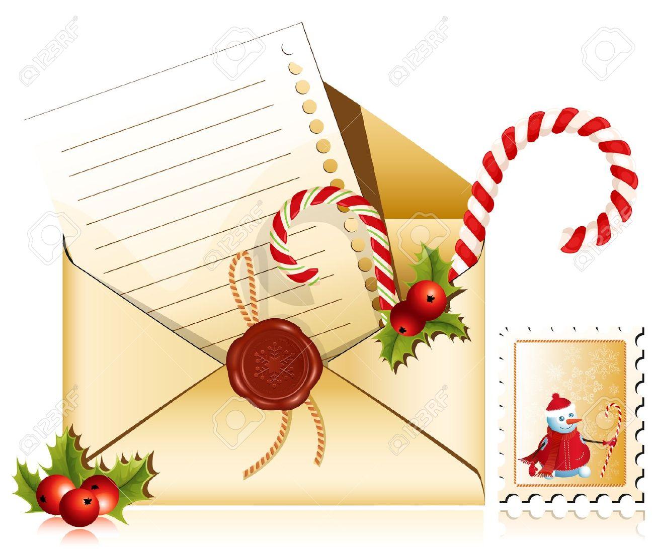 Santa Mailbox Clipart.