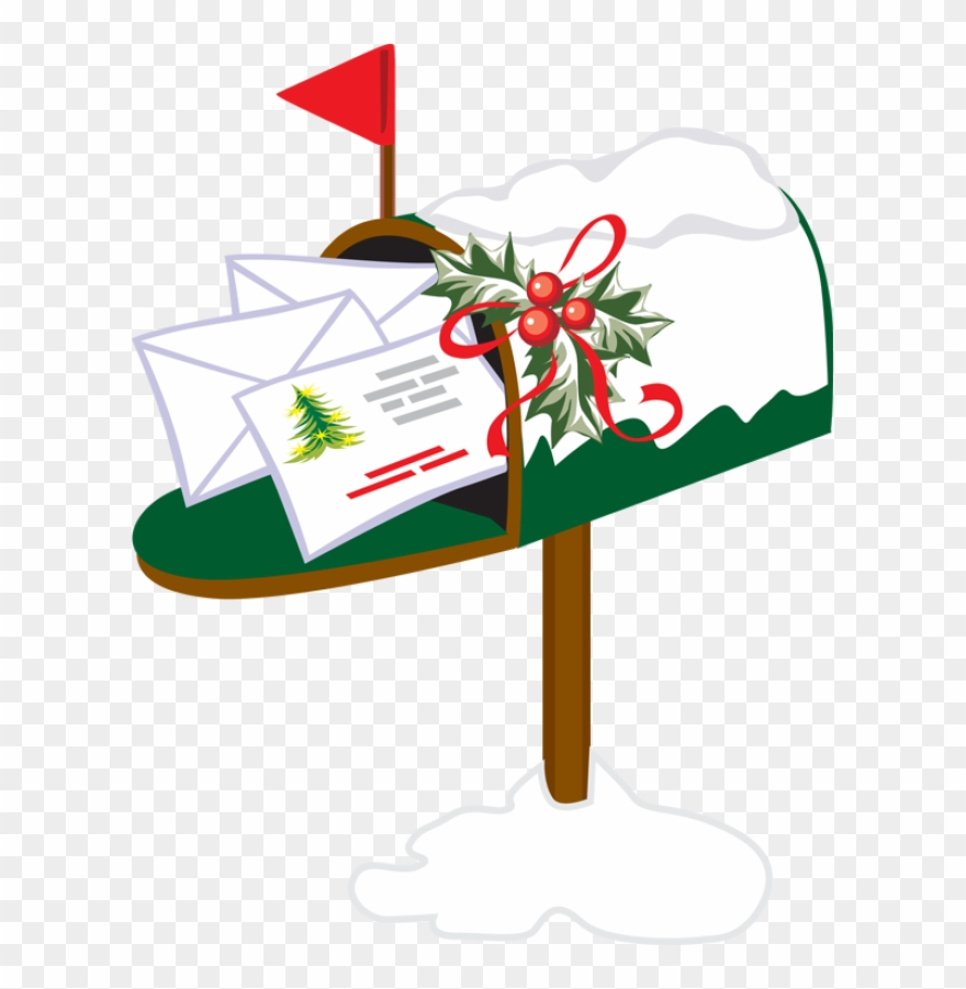Mailbox Clipart Holiday.