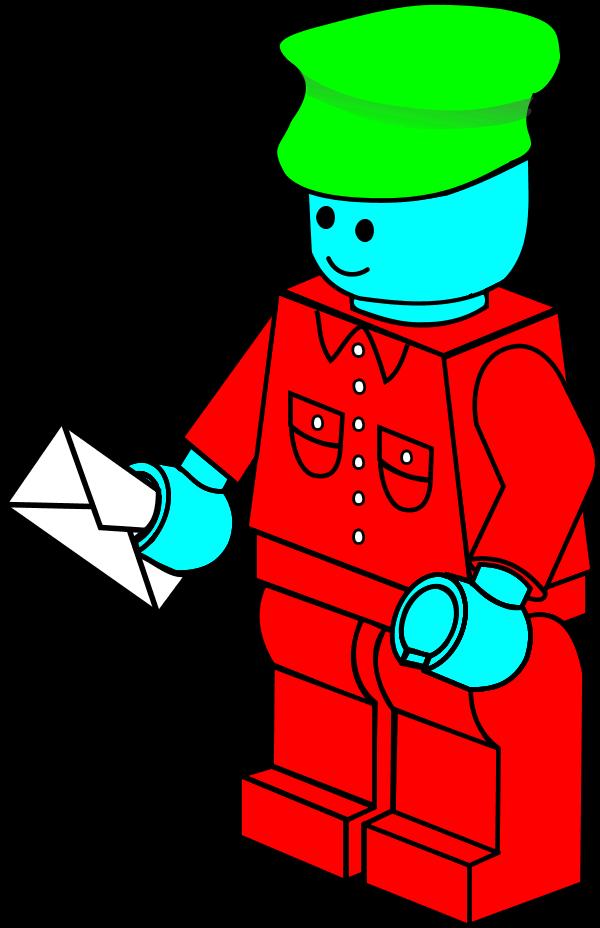 Mailman clipart christmas, Mailman christmas Transparent.