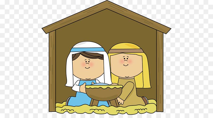 Christmas Manger png download.