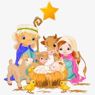 Clipart Christmas Nativity At Getdrawings.
