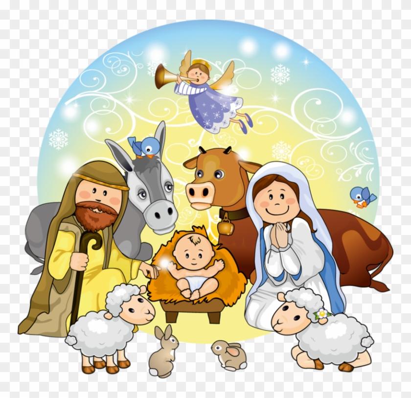 Manger Svg Nativity Scene.