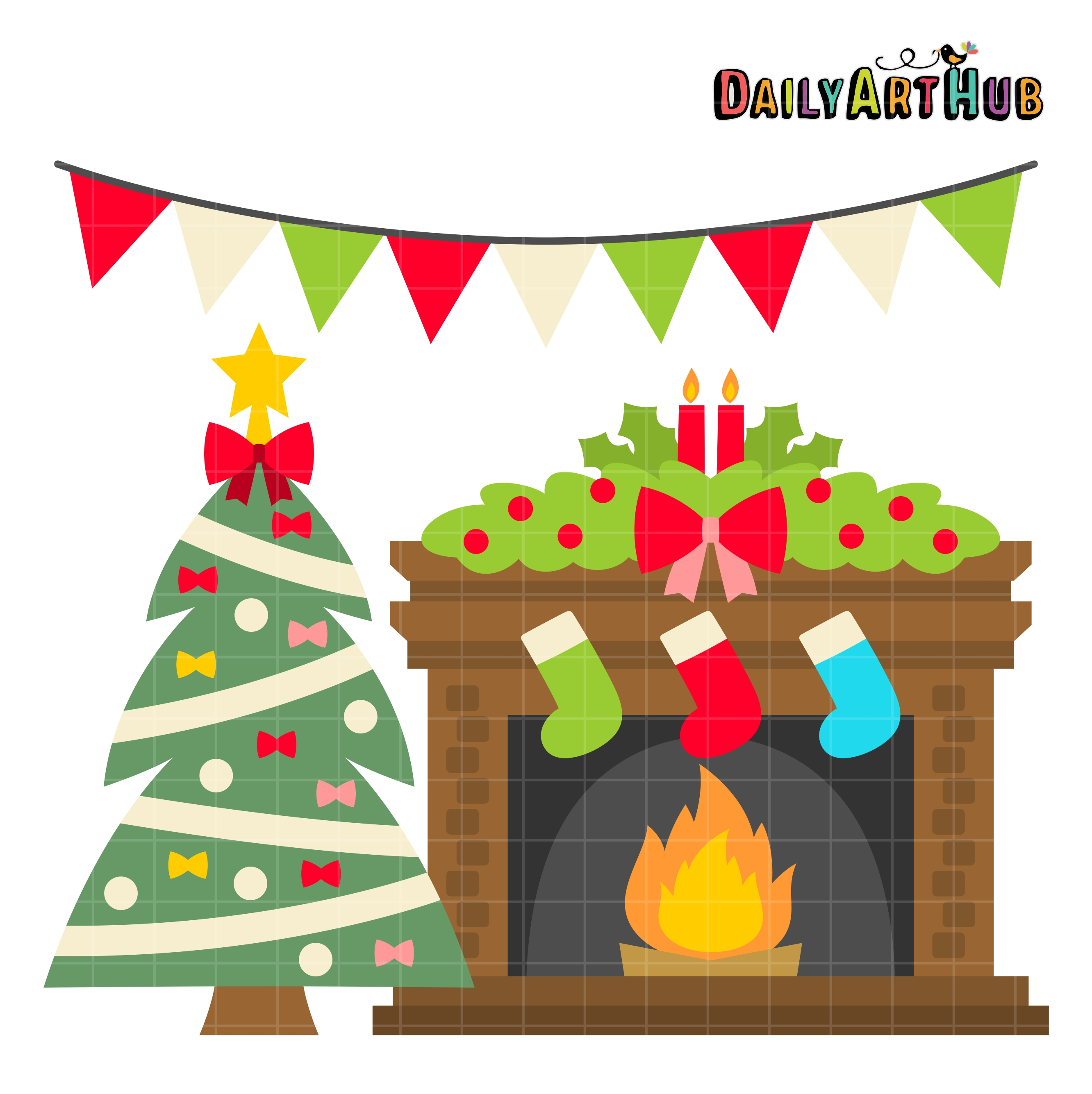 Free Holiday Fireplace Cliparts, Download Free Clip Art, Free Clip.