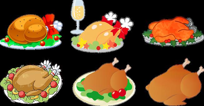 100+ Free Christmas Dinner & Dinner Images.