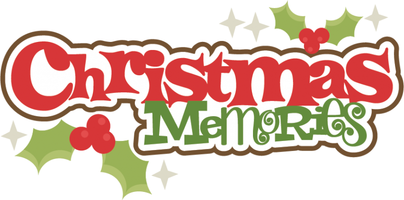 Christmas Memories Clipart.