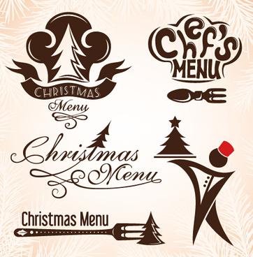 Christmas menu clip art free vector download (220,608 Free vector.