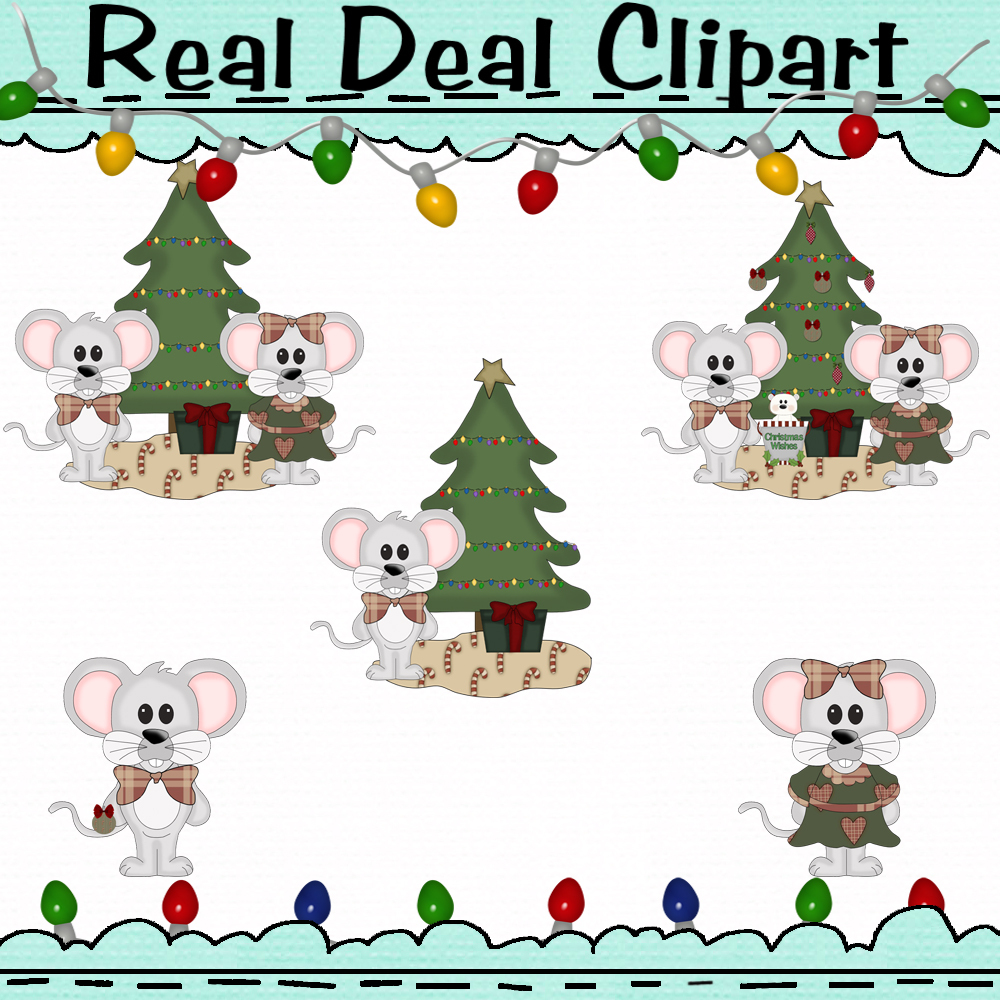 Christmas Mice Clipart and 50 similar items.