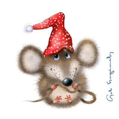 Christmas mice clipart 2 » Clipart Portal.