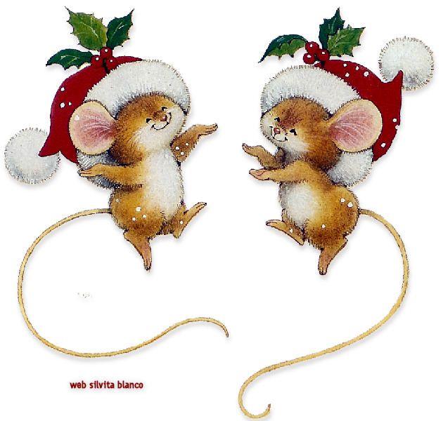 ❤️ Happy Smiling Christmas Mice.