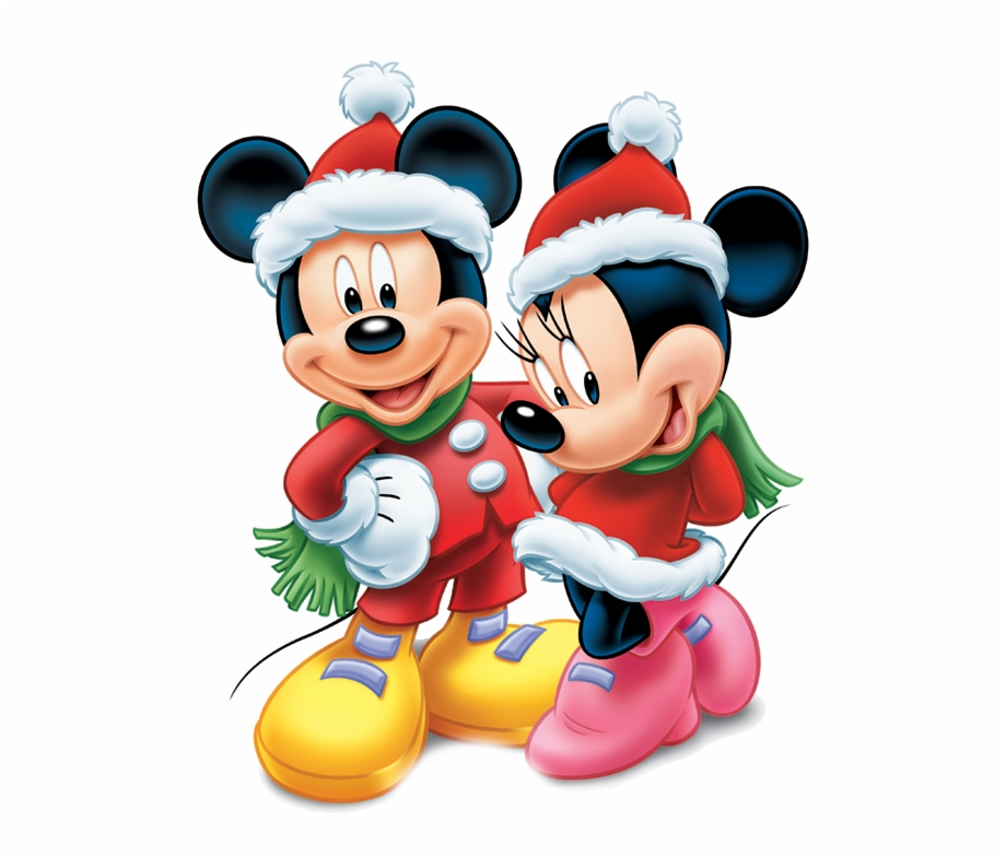Disney Christmas Png Minnie And Mickey Mouse Christmas.