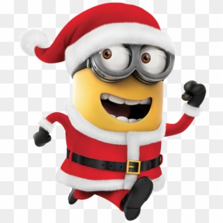 Merry Christmas Clipart Minion.