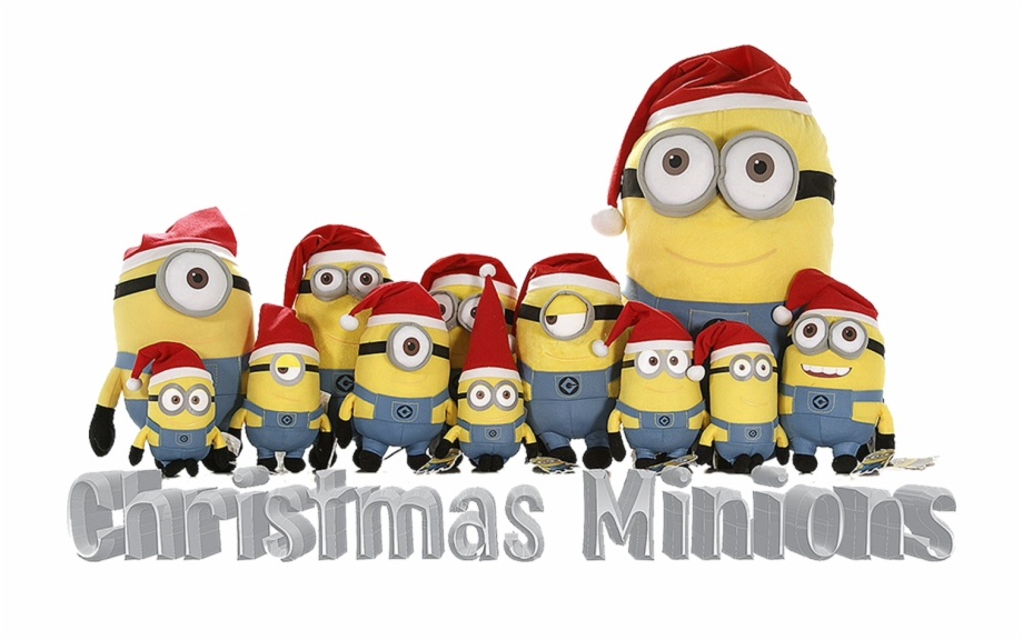 Minion Christmas Png.