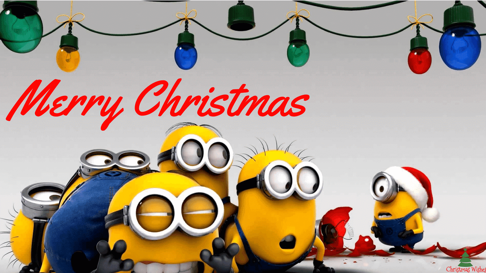 Minions Christmas Wallpapers.
