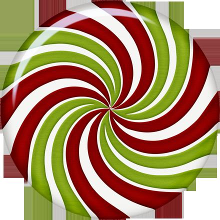 Christmas Peppermint Candy clip art.