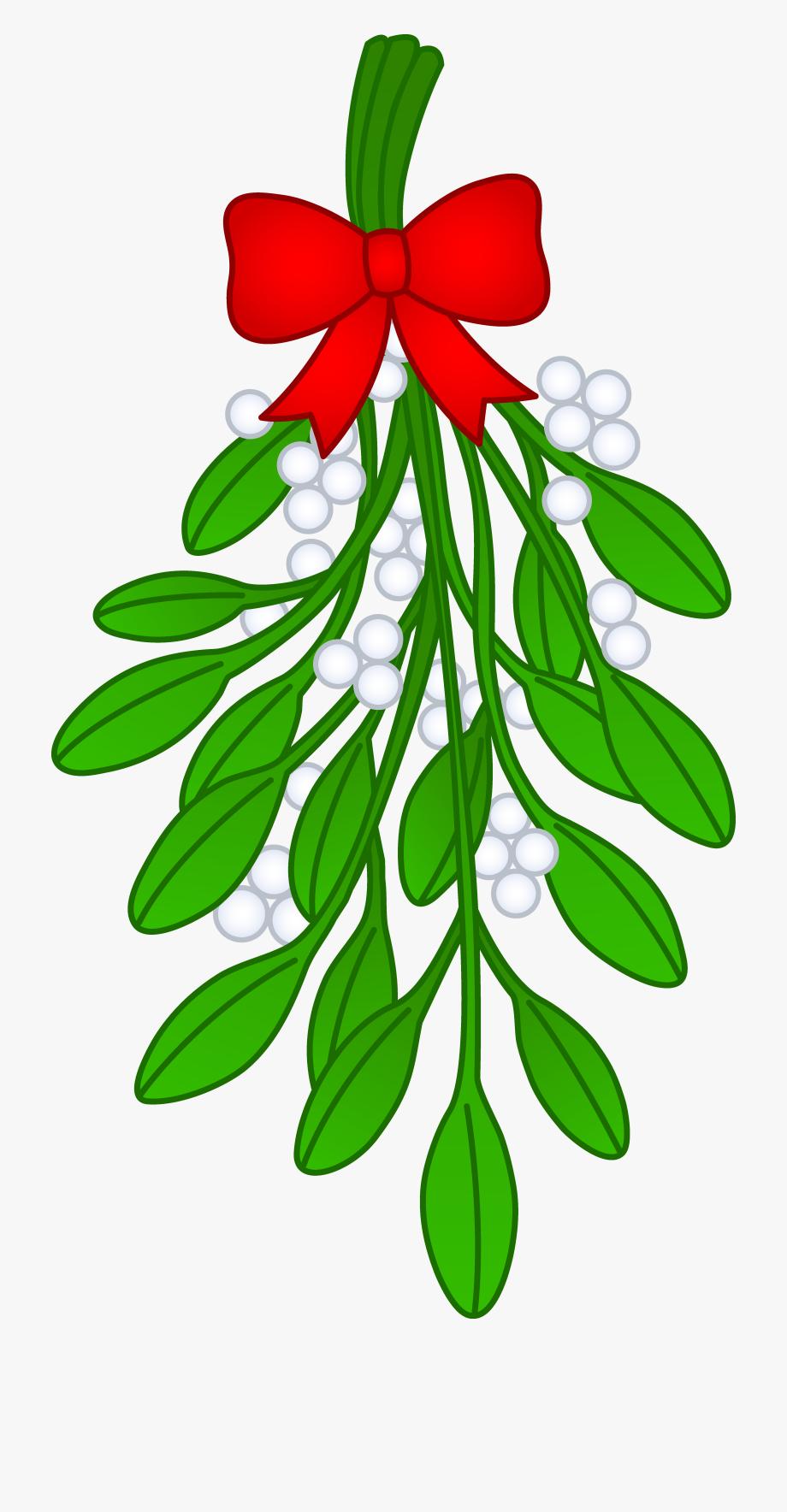 Clipart Mistletoe.