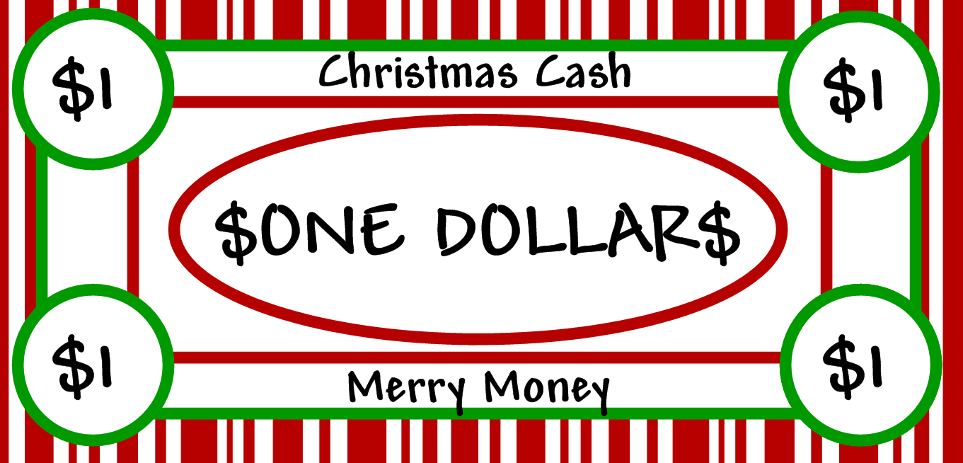 Free Clipart N Images: Merry Christmas Money.
