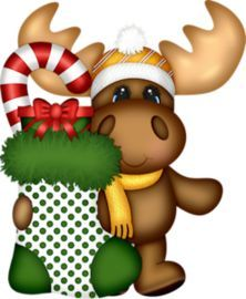 Christmas moose clipart free 3 » Clipart Portal.