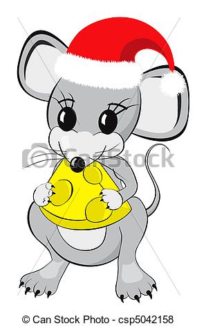 Christmas mice Illustrations and Clip Art. 252 Christmas mice.