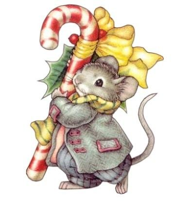 17 Best images about I ♥ CHRISTMAS MICE on Pinterest.