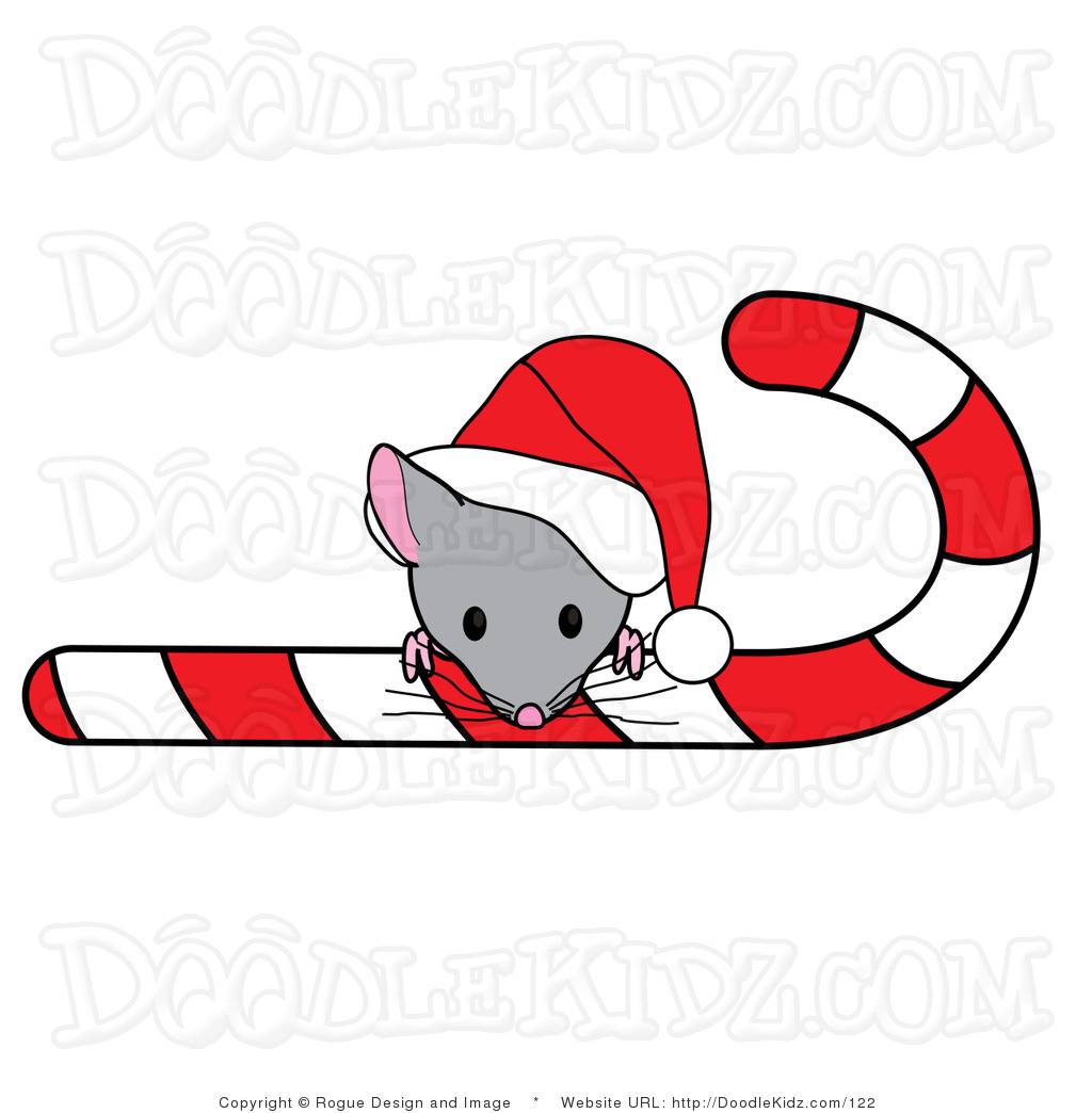 Christmas Mice Clipart.