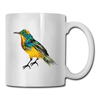 Amazon.com: BLACK SP Finch Clipart Bird Ceramic Mug/Cup Cool.