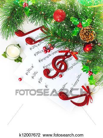 Christmas music border clipart 7 » Clipart Portal.