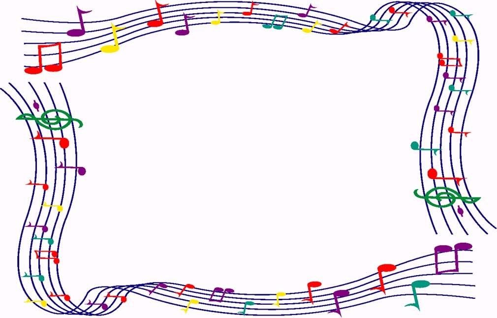 Christmas music border clipart 6 » Clipart Portal.