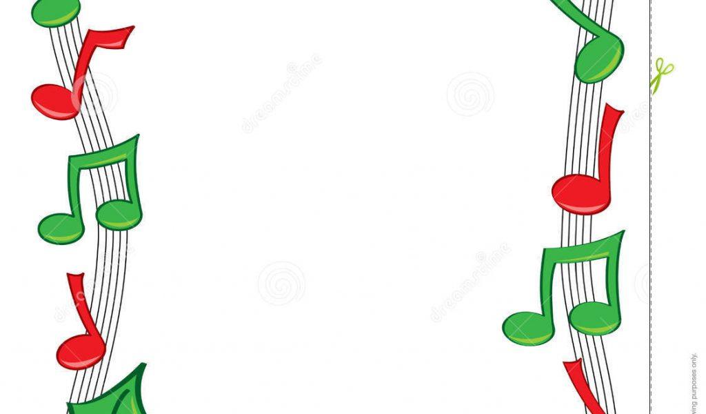 Christmas Clip Art Musical Symbols , Holiday Music, Christmas.