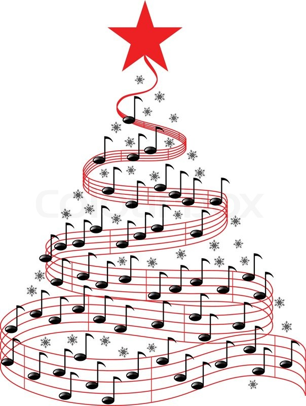 Christmas Music Notes Clipart . Christmas Music, Christmas Music.
