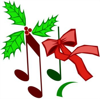 Christmas Music Notes Clipart#1911510.