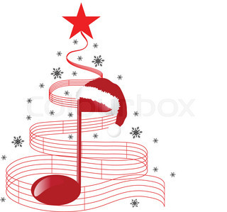Christmas Music Notes.