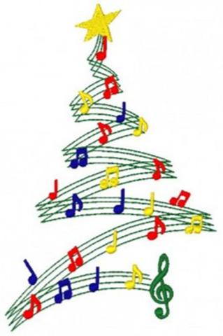 Christmas music png 4 » PNG Image.