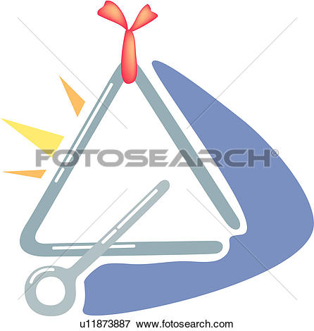 Clip Art of holiday, instrument, percussion instrument, musical.