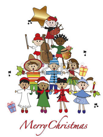9,798 Christmas Music Stock Illustrations, Cliparts And Royalty.