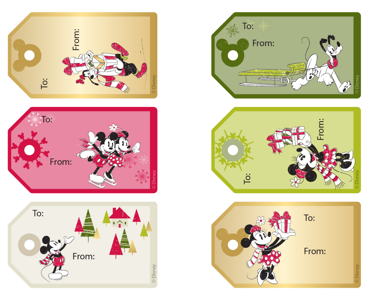 Printable Wrapping Paper and Gift Tags Roundup.
