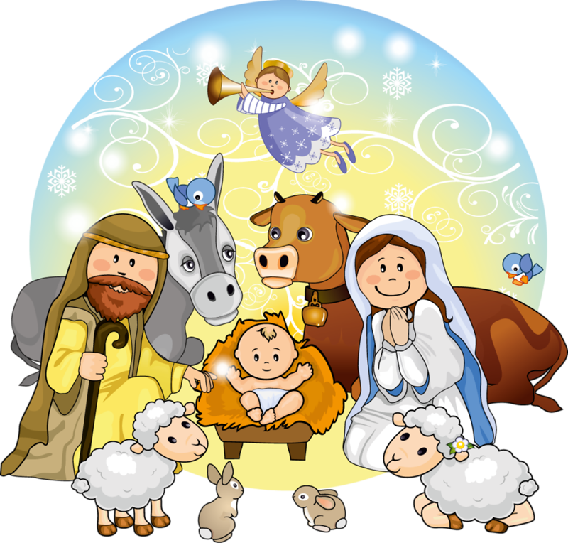 Christmas Nativity Clipart 1.