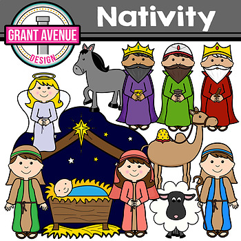 Nativity Clipart.