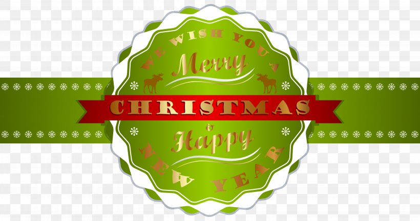 Christmas New Year\'s Day Clip Art, PNG, 6180x3264px.