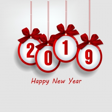 Happy New Year PNG Images.