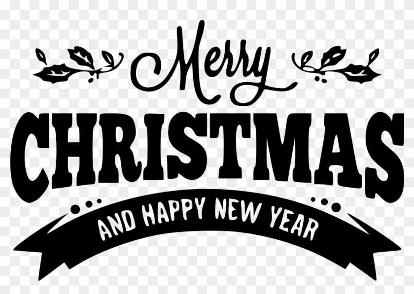 Merry Christmas And Happy New Year Png With 15 For.