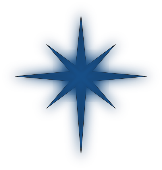 christmas north star clipart #6.