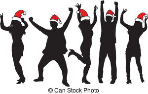 Christmas Party Images Clipart.