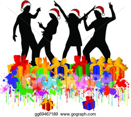 Christmas party clipart 6 » Clipart Station.